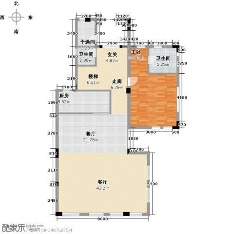 合正东部湾1室0厅2卫1厨162.00㎡户型图