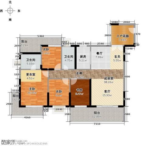 中珠・在水一方4室0厅2卫1厨179.00㎡户型图