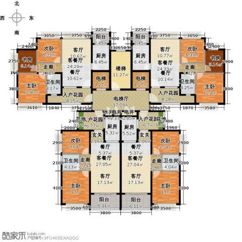 恒大御湖9室4厅4卫4厨461.00㎡户型图