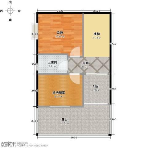 荔城碧桂园1室0厅1卫0厨171.00㎡户型图