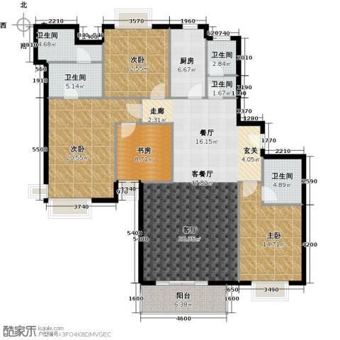 珠江拉维小镇4室1厅5卫1厨180.00㎡户型图