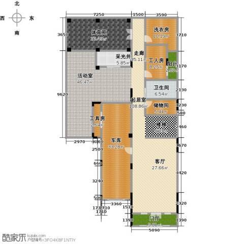晋愉碧怡林畔东岸1卫0厨296.00㎡户型图