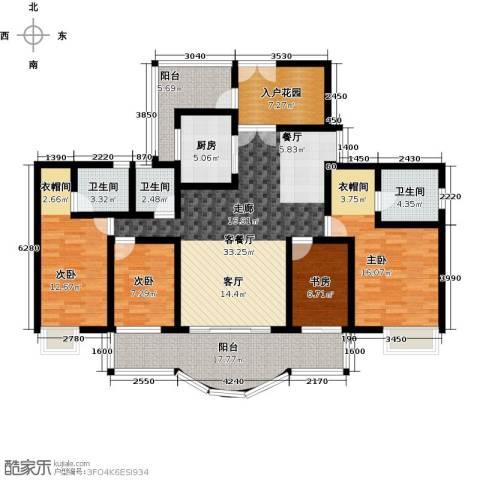 亿泉尚园4室1厅3卫1厨140.00㎡户型图