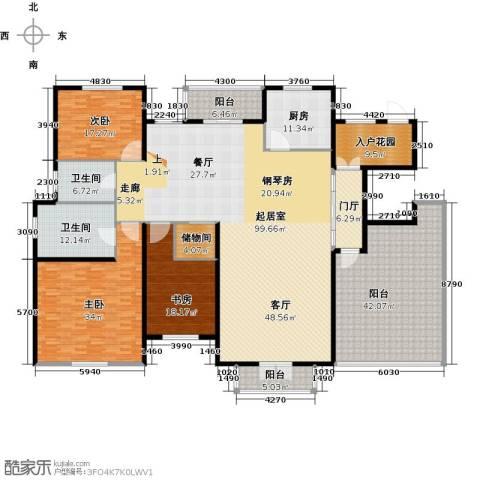 尼德兰官邸3室0厅2卫1厨372.00㎡户型图