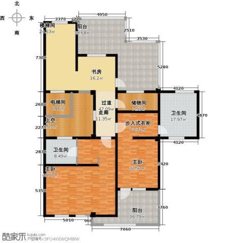 鹏欣一品漫城三期2室0厅2卫0厨266.00㎡户型图