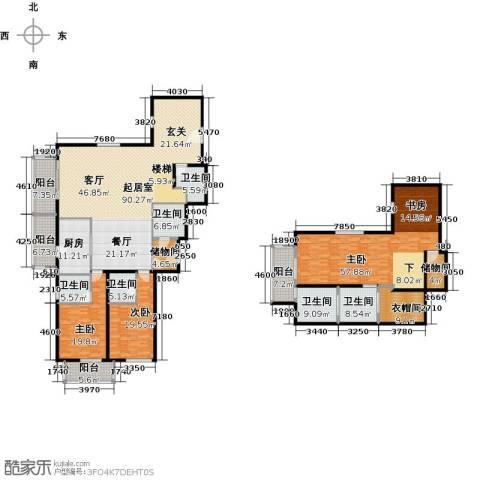 宛平883室0厅6卫1厨316.00㎡户型图
