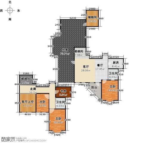 怡湖华庭澜郡4室0厅2卫1厨280.20㎡户型图