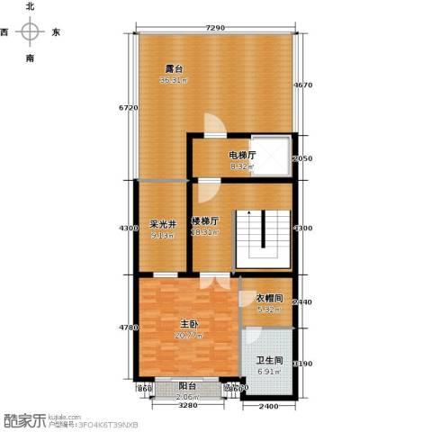 皇马郦宫1室0厅1卫0厨150.00㎡户型图