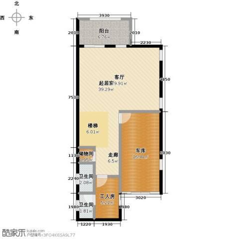 庆隆南山高尔夫国际社区2卫0厨102.00㎡户型图