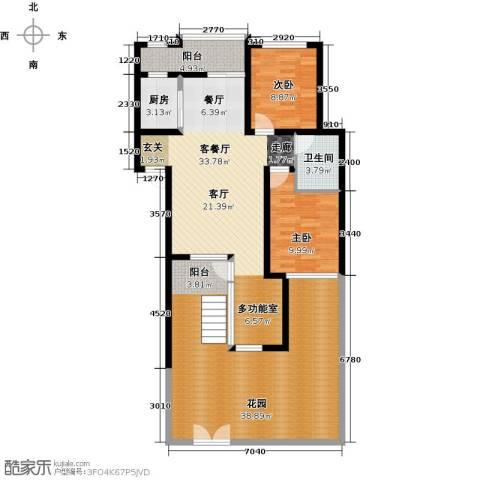 立立依山郡2室1厅1卫1厨147.00㎡户型图