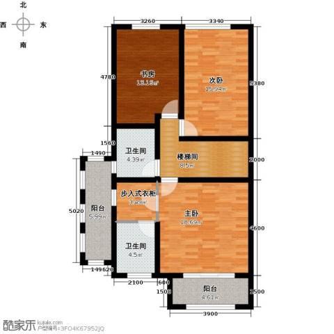 融科托斯卡纳庄园3室0厅2卫0厨212.00㎡户型图