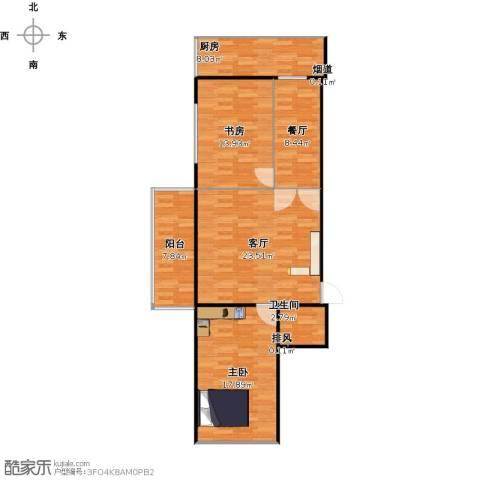 杏林湾2室2厅1卫1厨110.00㎡户型图
