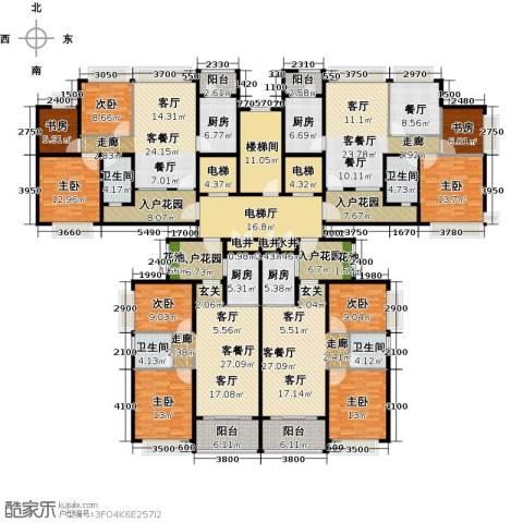 恒大御湖9室5厅4卫4厨462.00㎡户型图