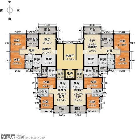 恒大御湖8室4厅4卫4厨415.00㎡户型图