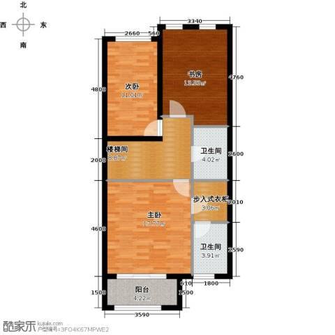 融科托斯卡纳庄园3室0厅2卫0厨186.00㎡户型图