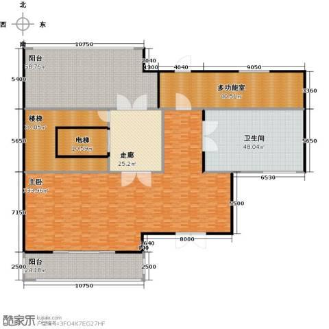 新江湾城首府1室0厅1卫0厨395.00㎡户型图