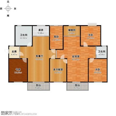 金世纪红枫苑4室1厅2卫1厨258.00㎡户型图
