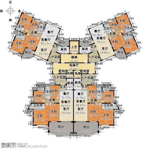 海琴湾9室4厅9卫4厨1025.00㎡户型图