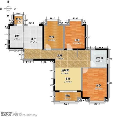 苏宁荣悦3室0厅1卫1厨140.00㎡户型图