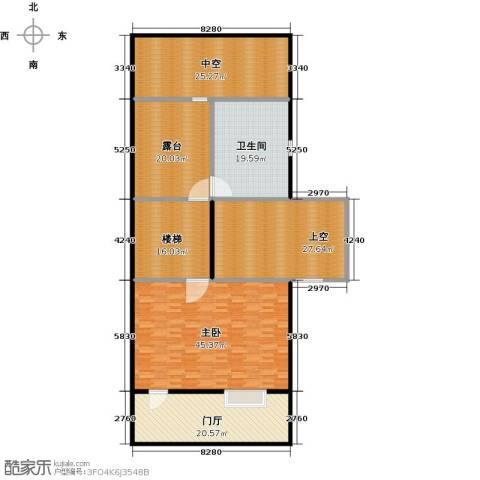 万科第五园1室0厅1卫0厨190.00㎡户型图
