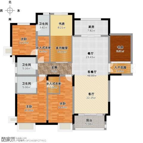 尚海湾豪庭4室1厅3卫1厨218.00㎡户型图