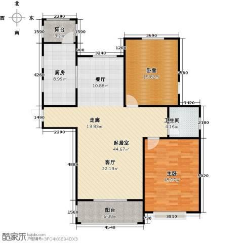 古北新城酩悦1661室0厅1卫1厨108.00㎡户型图