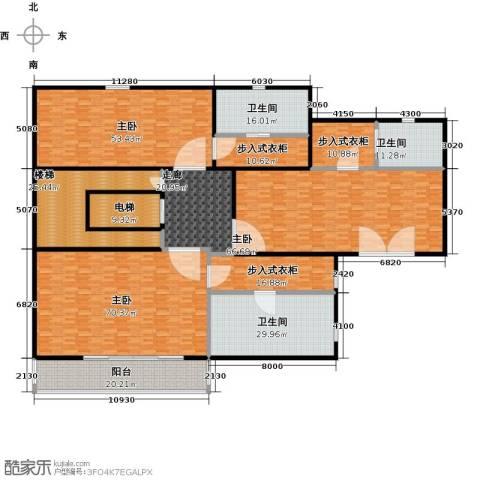 新江湾城首府3室0厅3卫0厨395.00㎡户型图