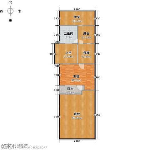 万科第五园1室0厅1卫0厨180.00㎡户型图