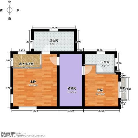 龙湖蓝湖郡别墅2室0厅2卫0厨202.00㎡户型图