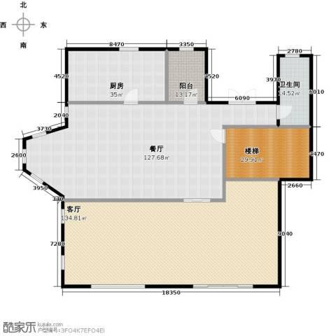 新江湾城首府2厅1卫1厨380.00㎡户型图