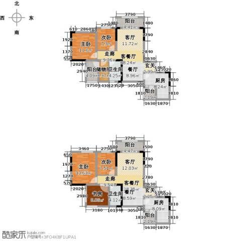 美利山公园城市5室2厅2卫2厨150.10㎡户型图