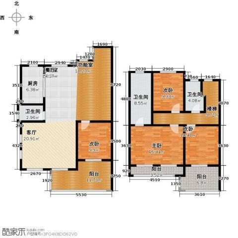 海上国际花园4室0厅3卫1厨169.00㎡户型图