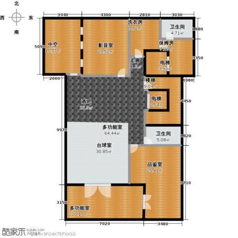 新江湾城首府2卫0厨207.00㎡户型图