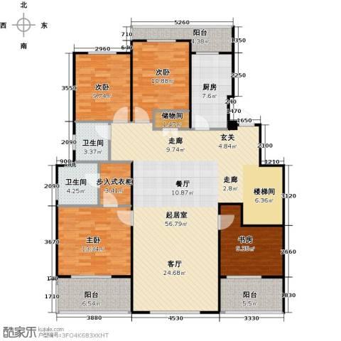 花田洋房4室0厅2卫1厨147.00㎡户型图