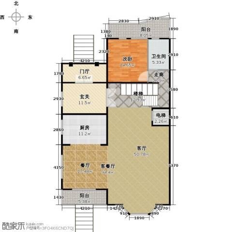 汇锦庄园1室1厅1卫0厨156.91㎡户型图
