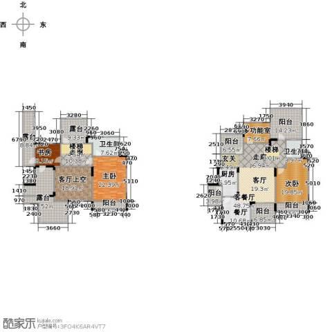 中国铁建山水时光3室1厅2卫1厨317.00㎡户型图