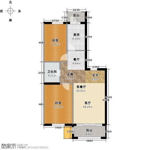 巴黎第五区1厅1卫1厨104.00㎡户型图