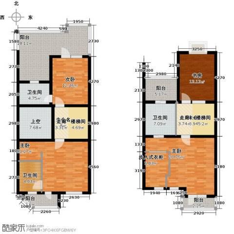 华瀚净月公馆4室0厅3卫0厨220.00㎡户型图