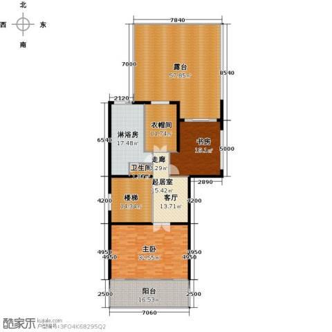 莲湖四季豪园2室0厅1卫0厨253.00㎡户型图