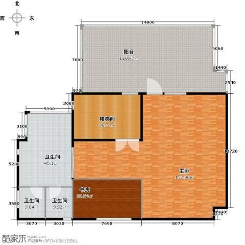汤臣湖庭花园2室0厅3卫0厨425.00㎡户型图
