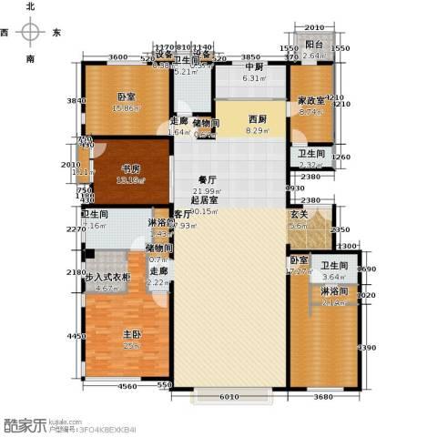 招商嘉铭・珑原2室0厅4卫0厨264.00㎡户型图