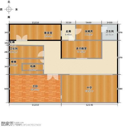 新江湾城首府1室0厅2卫0厨395.00㎡户型图