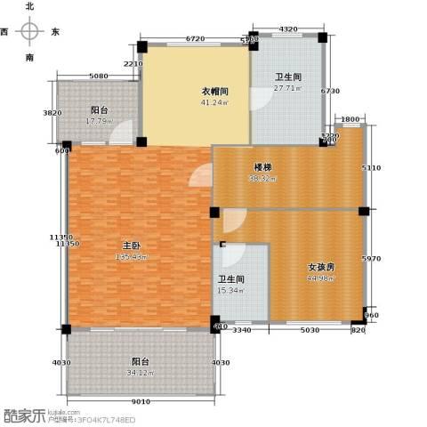 碧桂园天麓山1室0厅2卫0厨327.00㎡户型图