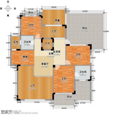 招商观园3室0厅2卫0厨254.00㎡户型图