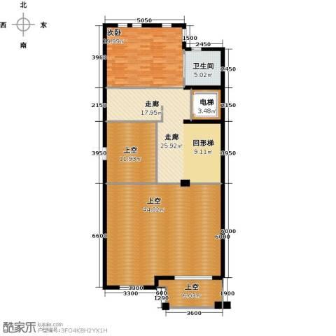 京基・鹭府1室0厅1卫0厨157.00㎡户型图