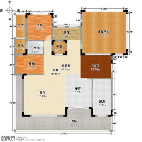 招商观园1室0厅1卫1厨285.00㎡户型图
