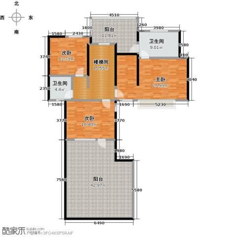 优山美地3室0厅2卫0厨318.00㎡户型图