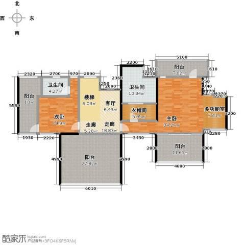 优山美地2室0厅2卫0厨318.00㎡户型图