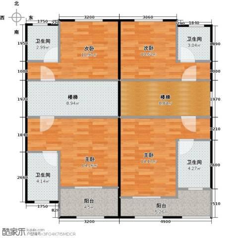 大旺・海印又一城4室0厅4卫0厨126.00㎡户型图