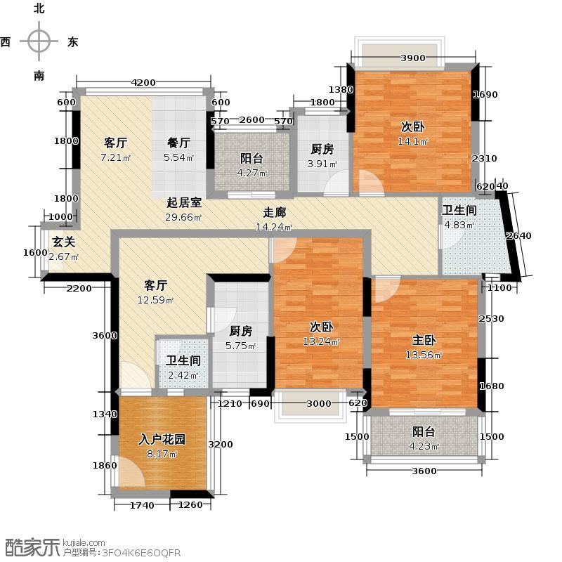 招商观园6栋一单元E、F二单元C,D户型图户型